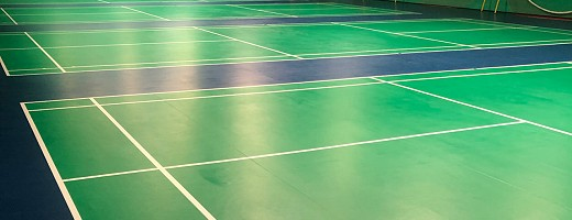 New look for Loughborough University Badminton Hall